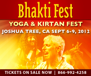 Find out more about Bhakti Fest 2012